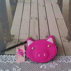 Betsey Johnson Piggy Coin Purse